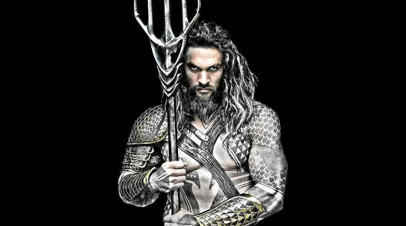 Jason Momoa stars in Aquaman, which was filmed on the Gold Coast. Supplied by Warner Bros.