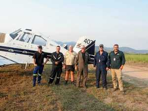 Quick-thinking and hard work prepares airstrip for fires