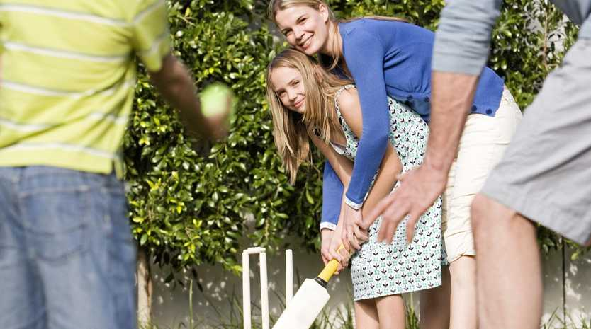 BACKYARD CRICKET: This Christmas, get the family together for some true Aussie fun.