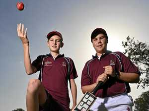 Long time Centrals mates push each other to state selection