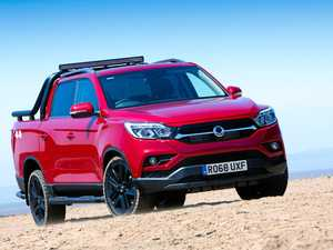 SsangYong return with strong pricing and improved design
