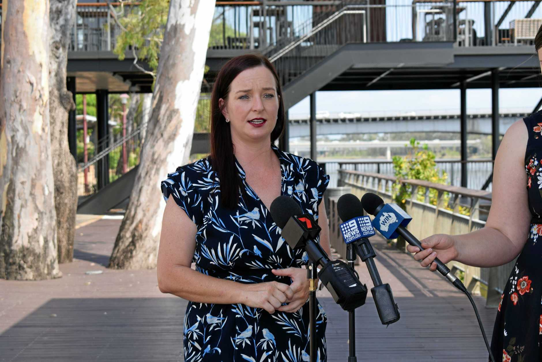 CONSTRUCTION ANNOUNCED: Member for Keppel and Assistant Education Minister Brittany Lauga today announced construction of Central Queensland's $14.3 million residential drug rehabilitation and treatment facility will begin in 2020.