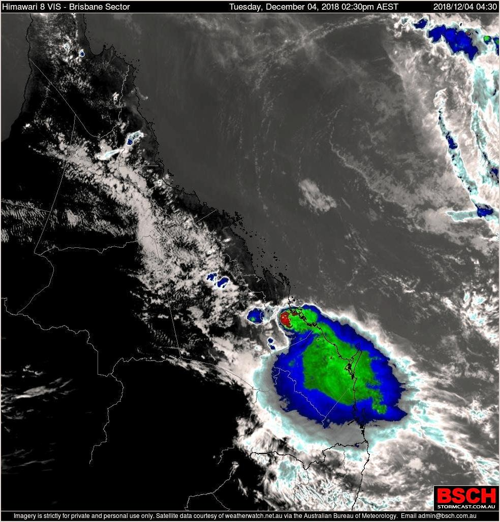 Rainfalls of up to 200mm for part of Central Queensland have been predicted for the next week as ex-Tropical Cyclone Owen moves closer to the QLD coast.