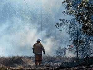 'Fire threat still there' for region's battling crews