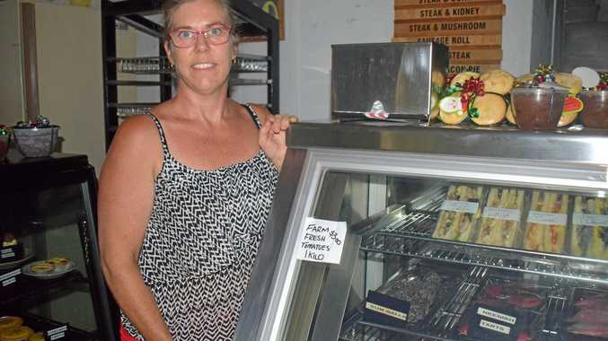 POWER OUTAGE: Gunalda's bakery manager at Mi Bakery Lisa O'Brien said it would be good if small businesses received back up generators.