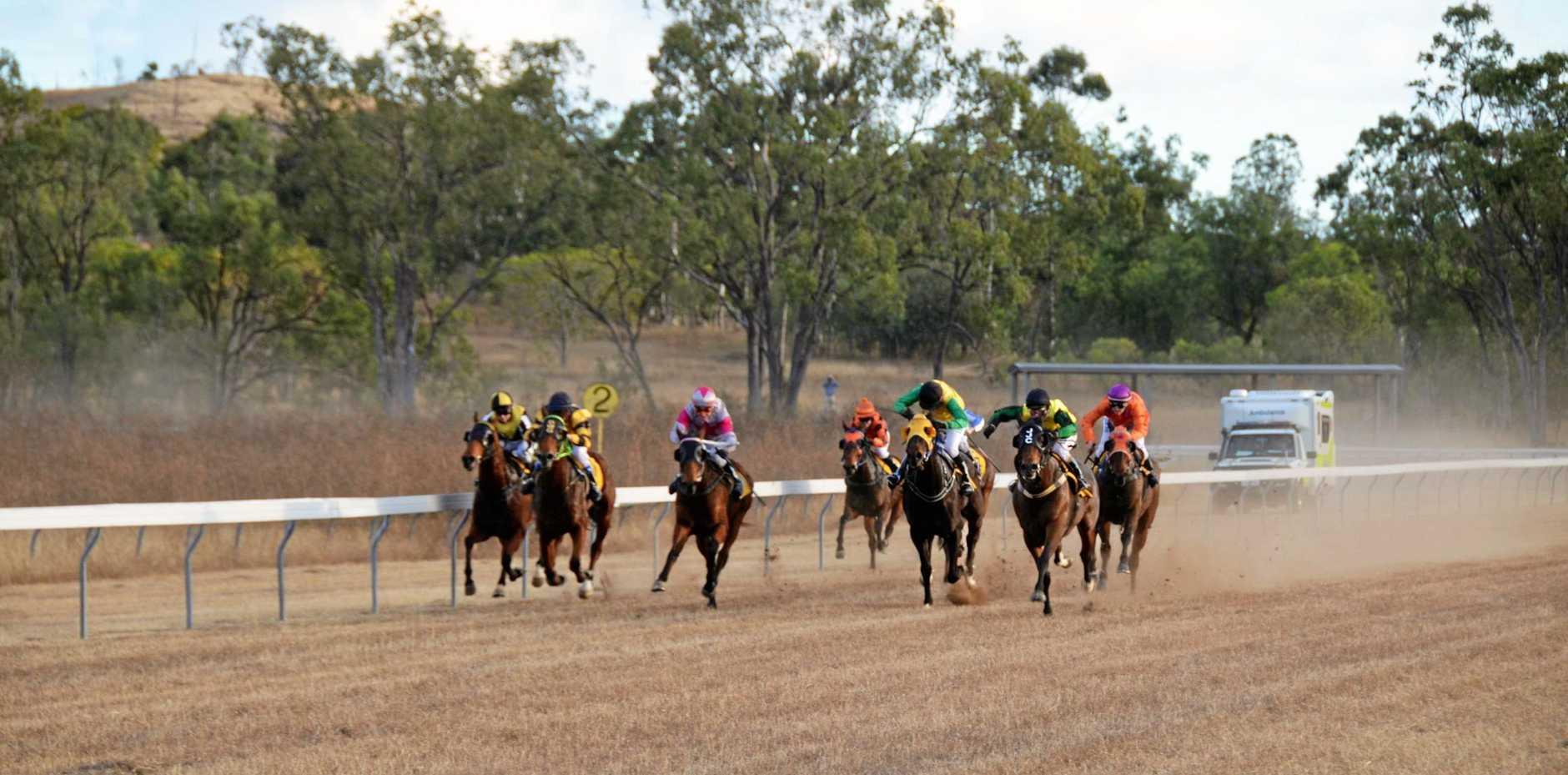 Gayndah's Winter horse races, the Gayndah Cup 2018.