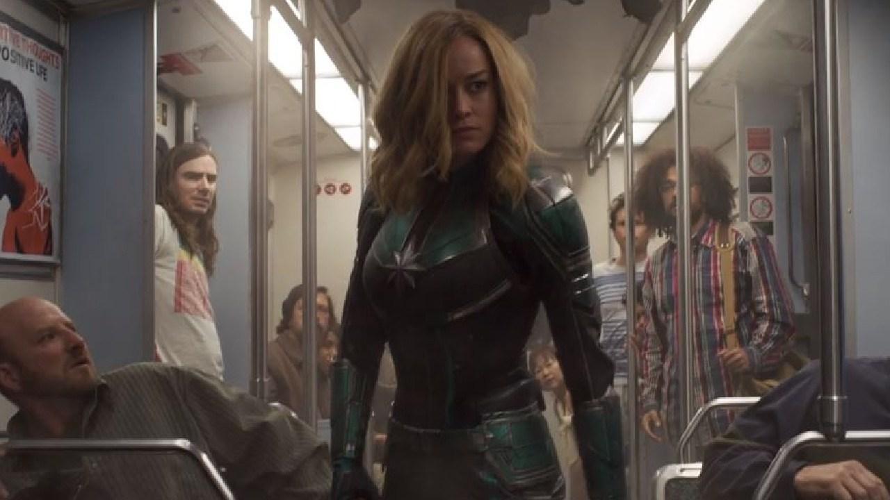 New Captain Marvel trailer drops