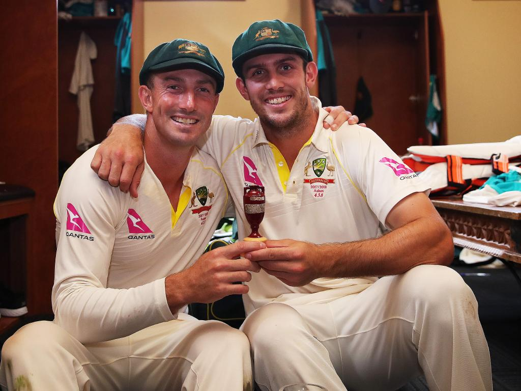 The criticism has been fierce for both Shaun and Mitch Marsh since the Ashes win.