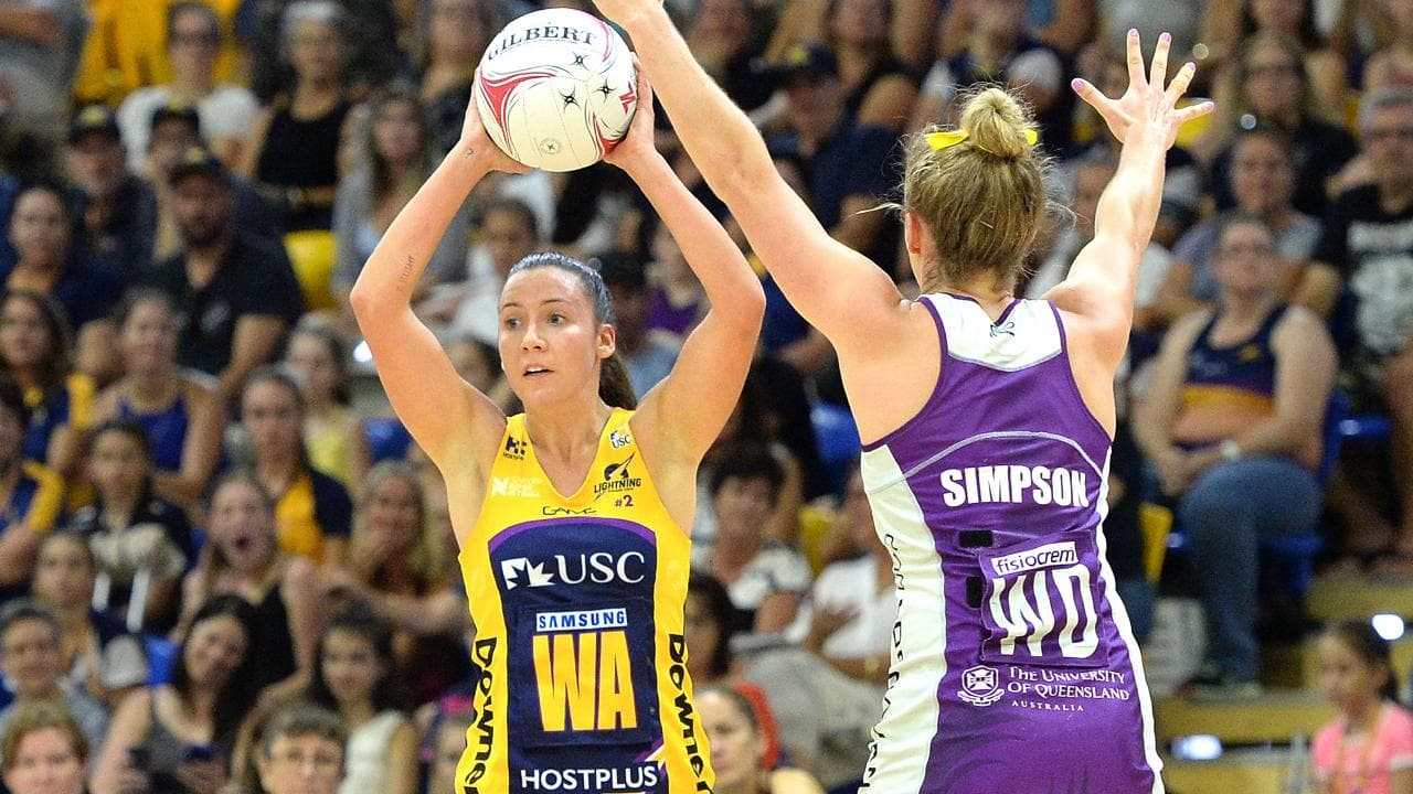 The Lightning has had the better of their state rivals the Firebirds. Picture: Getty Images
