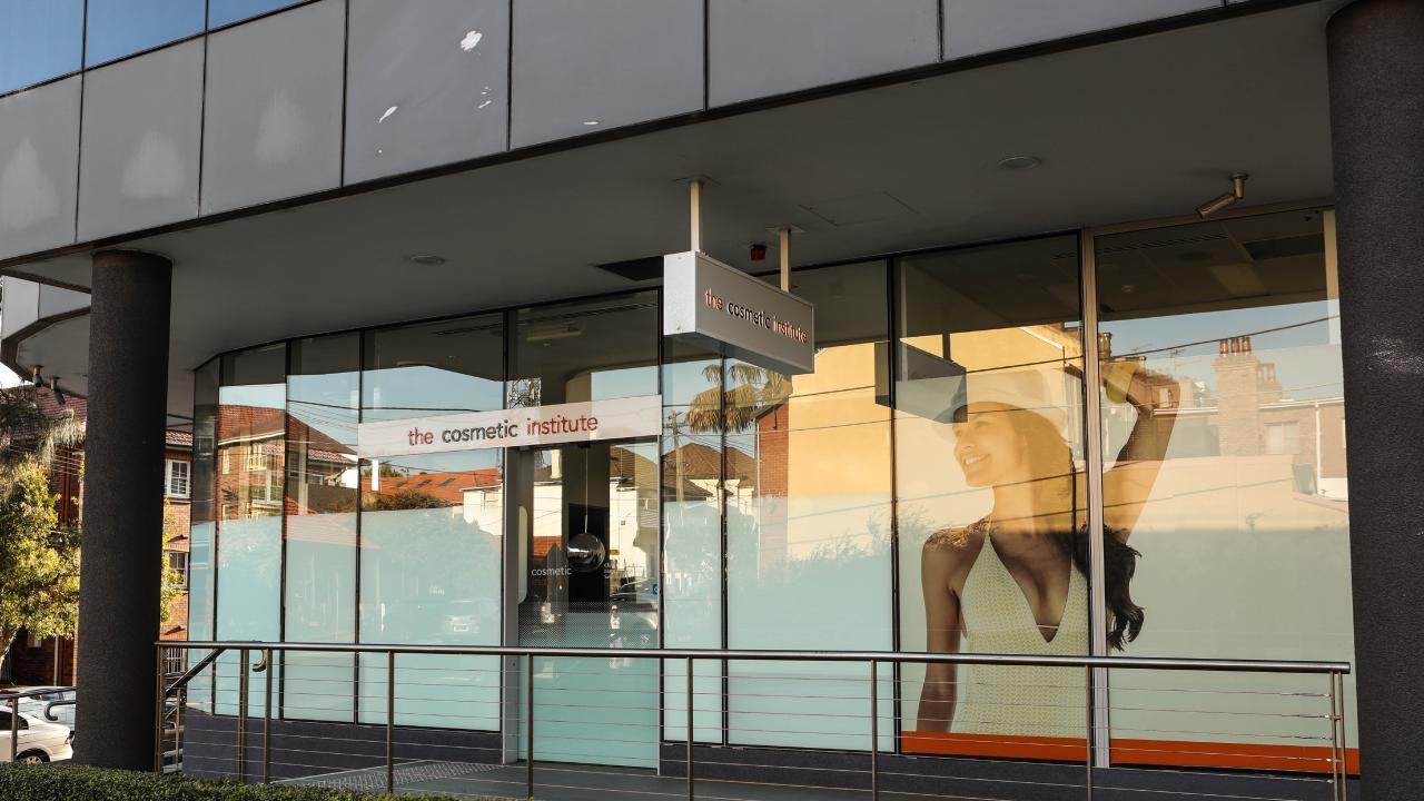 The Cosmetic Institute premises in Bondi Junction.