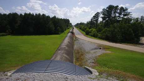 Part of the Laser Interferometer Gravitational-Wave Observatory in Louisiana, one of two in the US. Picture: Martin George / Hobart Mercury