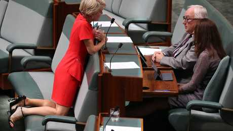 Well heeled.... Julie Bishop's style wowed parliament. Picture Gary Ramage
