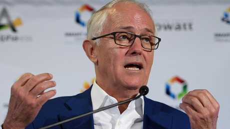 Former prime minister Malcolm Turnbull says some MPs don't believe in climate change. Picture: Dan Himbrechts/AAP