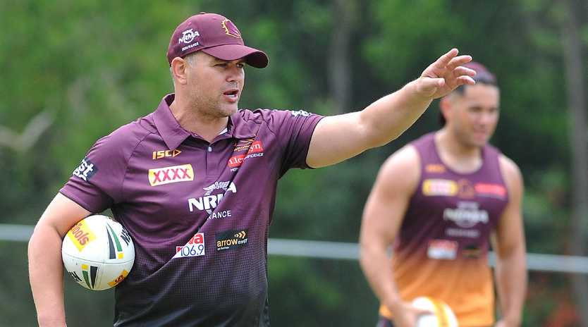 Anthony Seibold will coach the Brisbane Broncos this season. Picture: John Gass