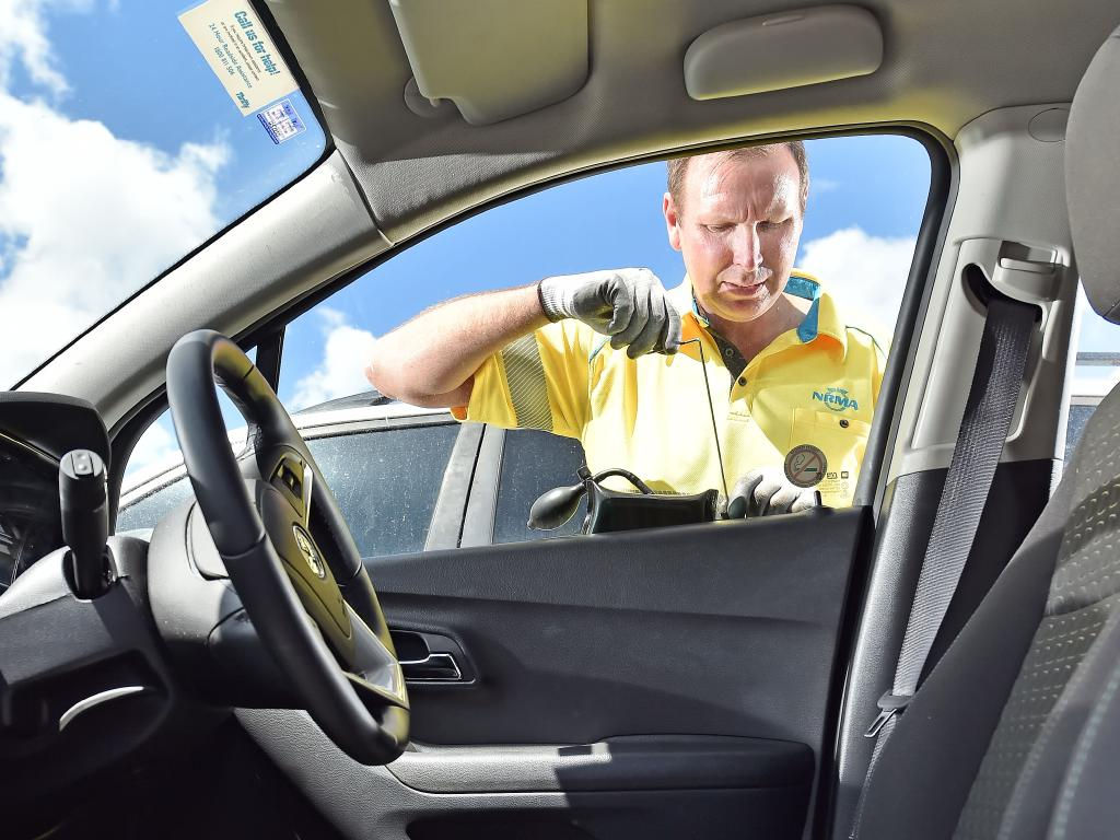 RACQ has been called out to an alarming number of events where children have become locked in a hot car. (AAP IMAGE / Troy Snook)