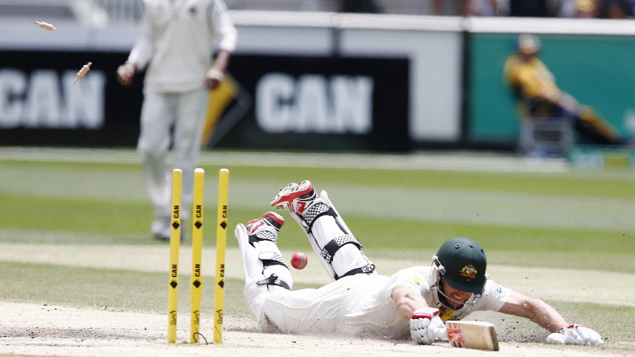 Shaun Marsh was THIS close to notching three figures against India in 2014.