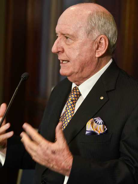 2GB's Alan Jones is one of many A-list guests. Picture: AAP Image/Ben Rushton