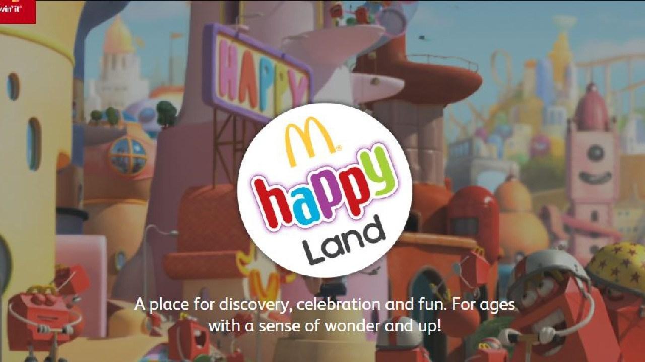 McDonald's Happyland app copped the Digital Ninja award. Picture: McDonalds