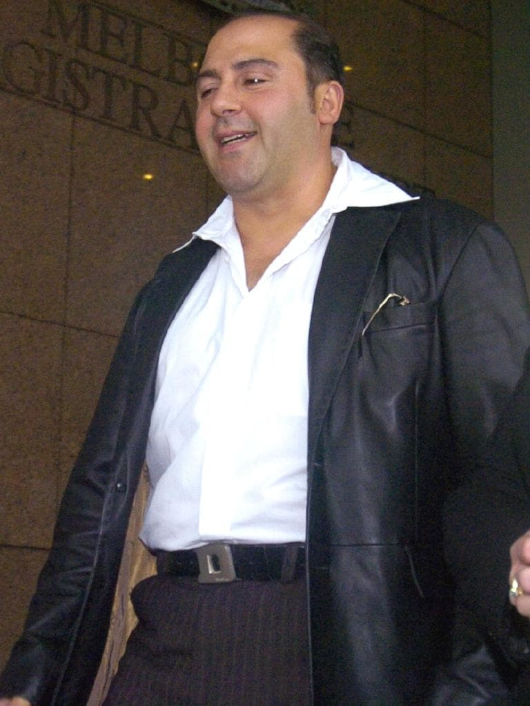 Lawyer X client Tony Mokbel, who could now get out of jail early.