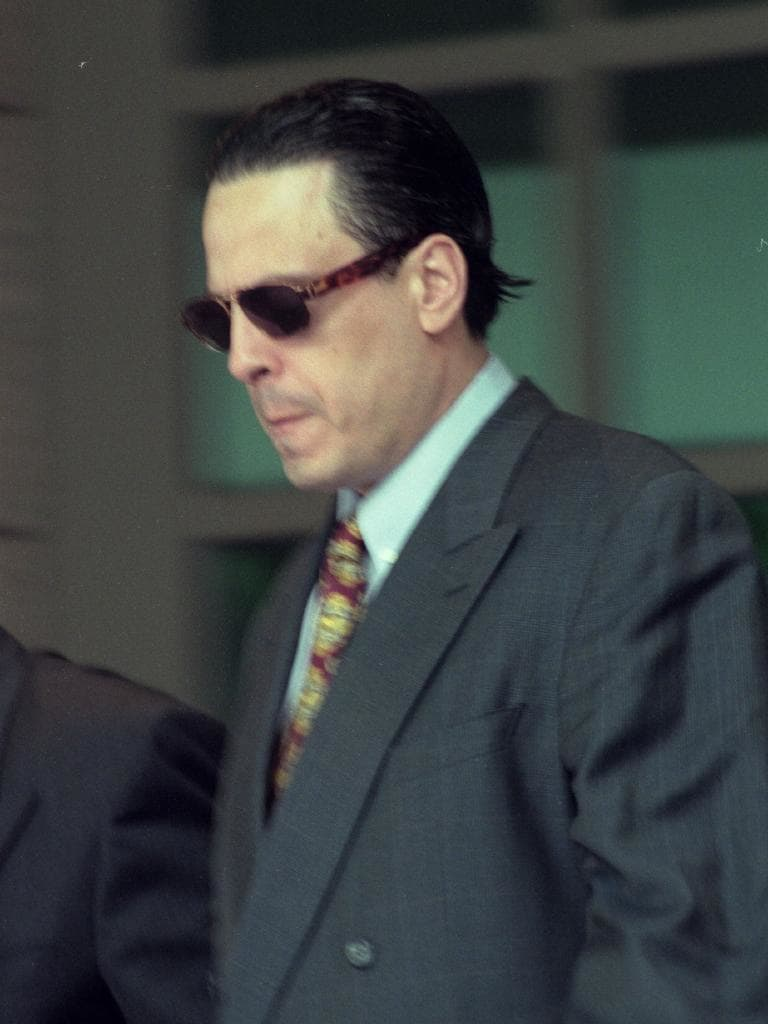 Alphonse Gangitano was shot dead in 1998, the first of many to die in the gangland war.