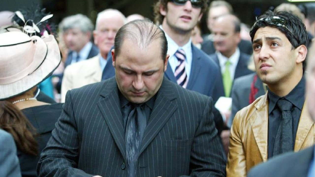 Tony Mokbel, centre, is appealing his conviction.