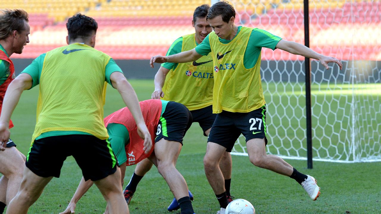 The Socceroos will be chasing back-to-back Asian Cup titles in the UAE this month. Picture: Getty Images