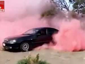 WATCH: 'Most bogan' gender reveal goes wrong