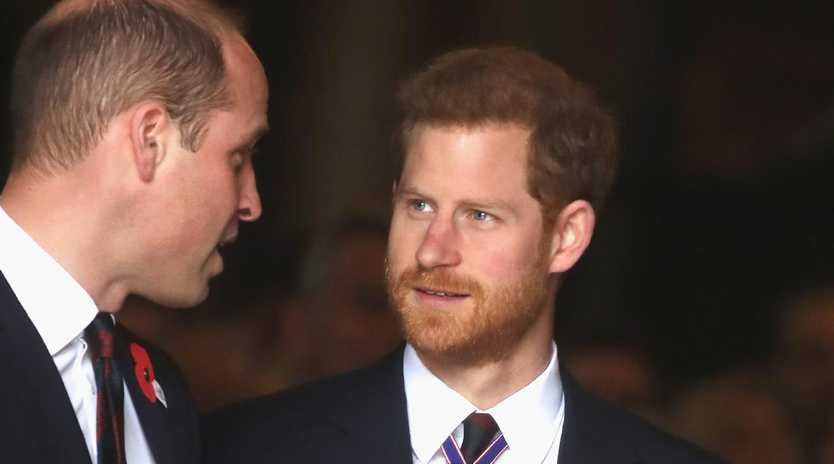 Prince William reportedly told Prince Harry he had concerns about Meghan. Picture: Chris Jackson/Getty Images