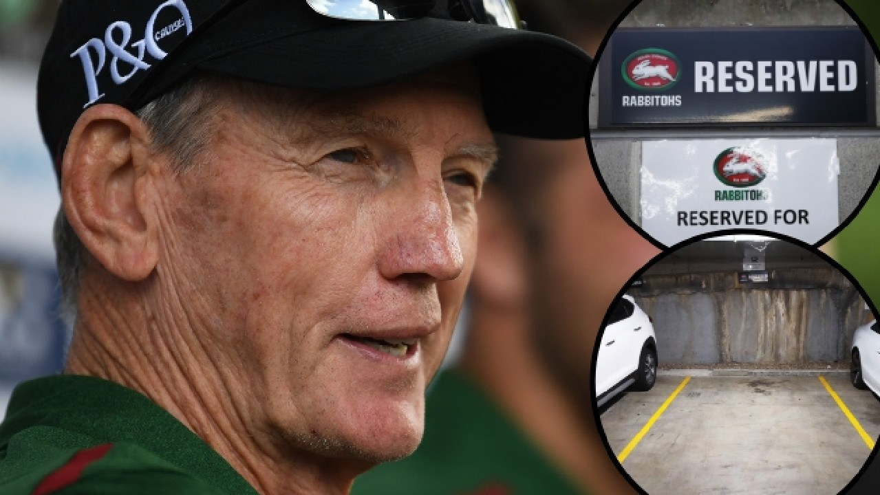South Sydney moved quick to secure Wayne Bennett a parking spot at Redfern Oval.