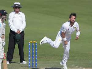 Pakistani spin king closes in on Aussie's 82-year record