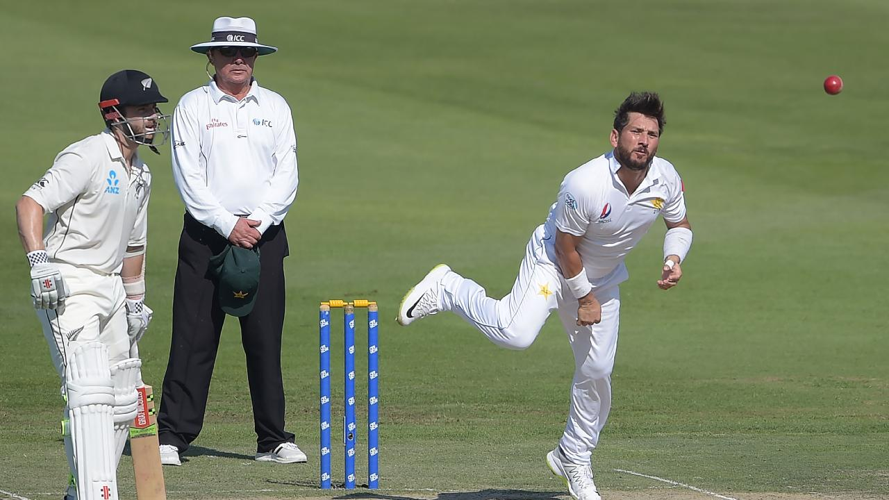Pakistani spinner Yasir Shah needs just two more scalps to become the fastest to 200 Test wickets.