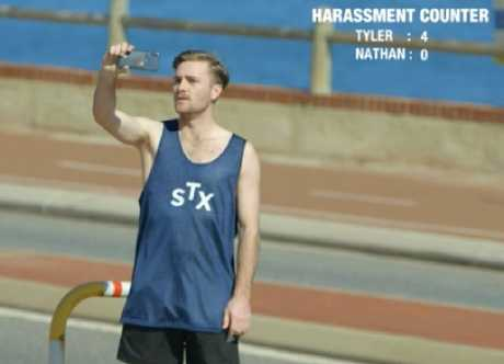 Nathan saw zero sexual harassment on the same street. Picture: SBS