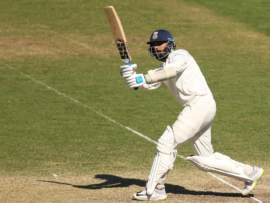 Murali Vijay cracked a century against the Cricket Australia XI at the Sydney Cricket Ground. Picture: Getty Images