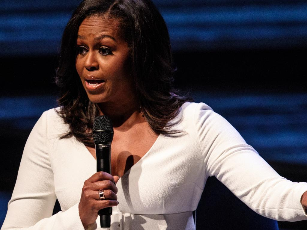 The idea that women can have it all at once is untrue, former First Lady Michelle Obama says. Picture: Getty