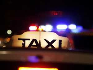 Man attempts to rob taxi driver with a brick, screwdriver
