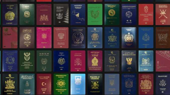There is a new most powerful passport in the world. Picture: Passport Index