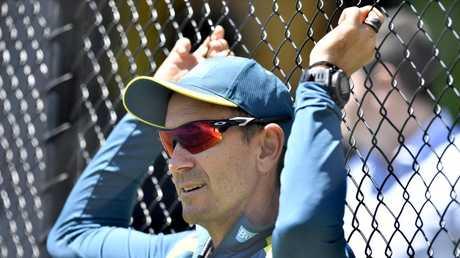 Justin Langer wants to see his batsmen score big, big centuries. Picture: AAP