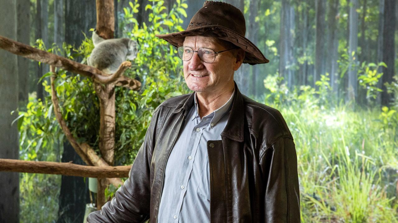 President of Wildlife Logan Ted Fensom at the Daisy Hill Koala Centre. Picture: Richard Walker
