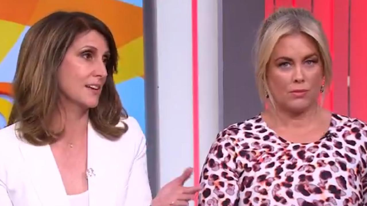 Sunrise hosts copped criticism for their discussion about the #MeToo movement. Picture: Channel 7