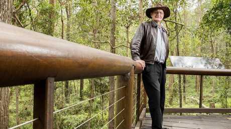 Ted Fensom believes koalas should be declared endangered. Picture: Richard Walker