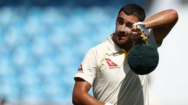 Mitchell Starc has failed to fire in Adelaide.