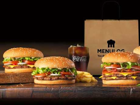 Hungry Jack's has also recently joined up with Menulog. Picture: Supplied