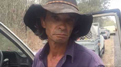 A Deepwater man speaks to the NewsMail about land clearing laws.
