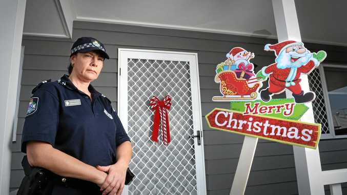 FOIL FESTIVE FOOLS: Senior constable Kerrin Sheedy talks about Christmas theft and how to avoid it.