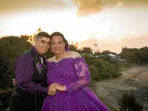 Couple waited years to marry