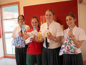 School project brings sanitary items to Fijian women in need