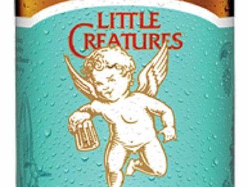 Little Creatures Extra Pale Ale.