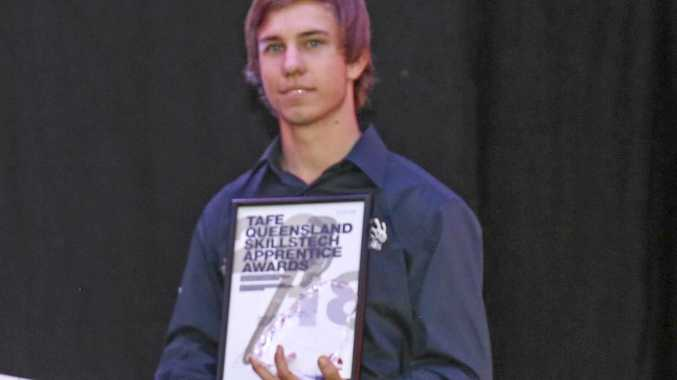Gympie apprentice Patrick Brennan has won yet another industry award.