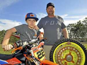 DREAM CHASER: Motocross prodigy on target to match hero
