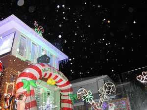 Epic Christmas display gives back to community